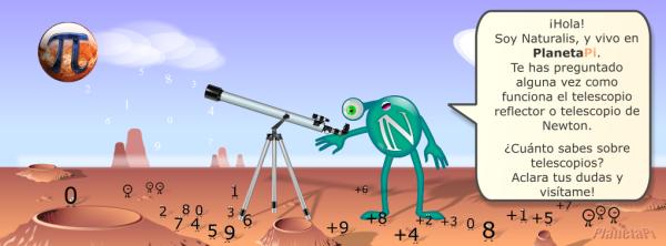 telescopio newton