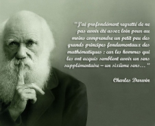 charles darwin citations mathematics