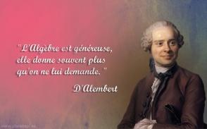 D'Alembert frases