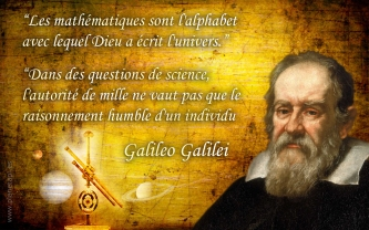 galileo galilei citations french