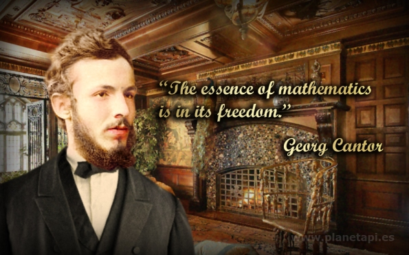 Georg Cantor. Mathematics phrases