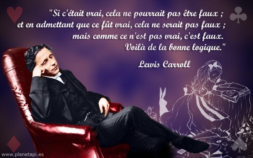 Lewis Carroll Citation Planetapi