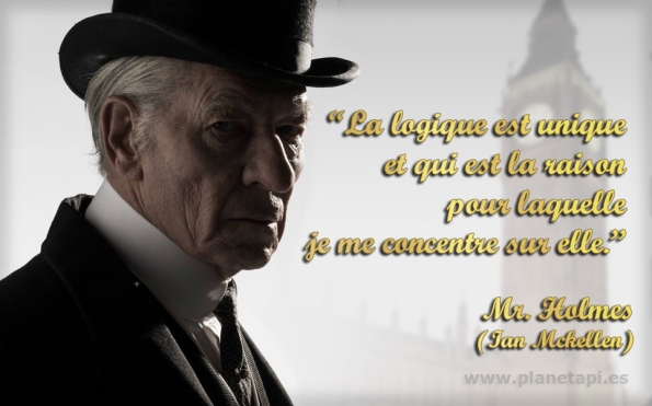 Mr Holmes citations sur les mathematiques