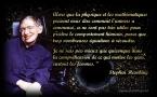 Stephen Hawking, citation sur les mathématiques
