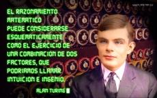 Alan Turing frases de matemáticas