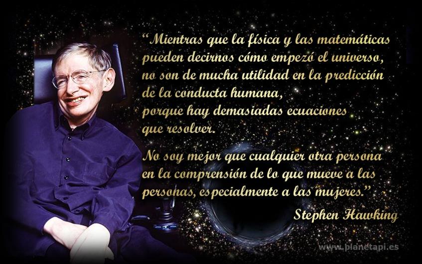 Stephen Hawking Frases Planetapi