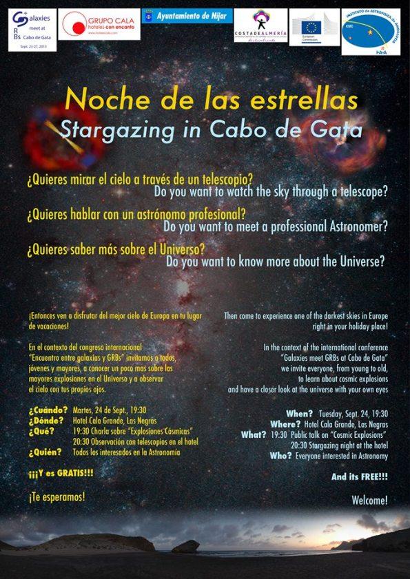 Noche de las estrellas en Cabo de Gata