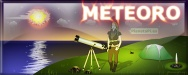 meteorito y meteoro