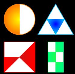 circulo triangulo cuadrado y rectangulo