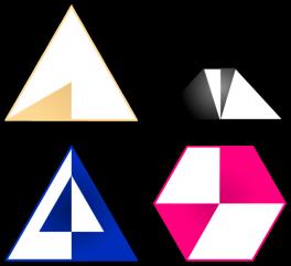 proporcion de zona sombreada de una figura