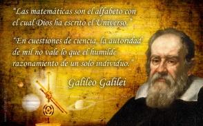 Galileo Galilei, frases de matemáticas