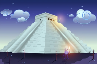 las piramides mayas