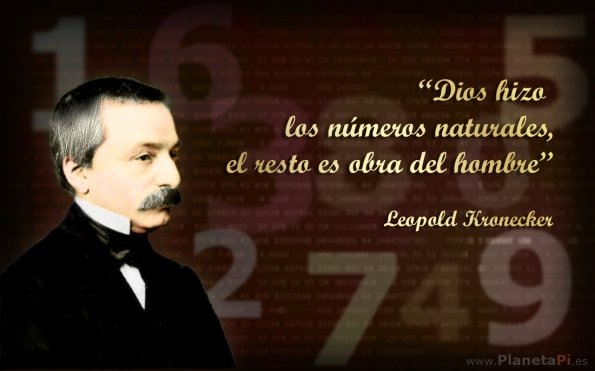 Leopold Kronecker, frases
