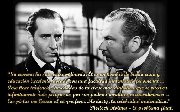 Sherlock Holmes. Interpretado por Basil Rathbone