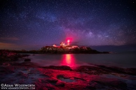Milky Way Over Nubble Lighthouse