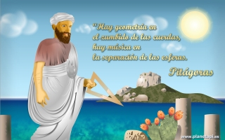 Pitágoras, filósofo y matemático