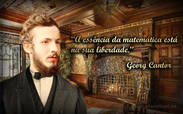 Georg Cantor. Citações de matemática.