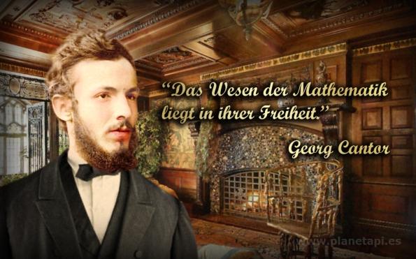 Georg Cantor. Das Wesen der Mathematik liegt in ihrer Freiheit.