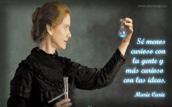 Marie Curie Frases web